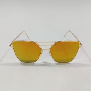 Accessories - Yellow Orange Cat Eye Sunglasses